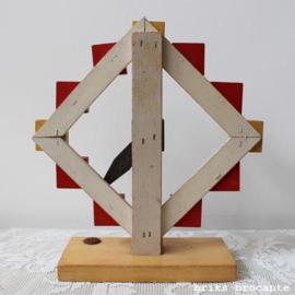houten SIO klok