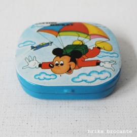 klein blikje Disney stickers