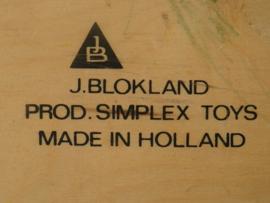 Blokland Simplex lesmateriaal - volgorde