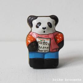 miniatuur blikje panda