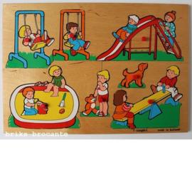 Simplex knopjespuzzel speeltuin