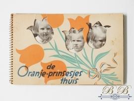 de Oranje-prinsesjes thuis