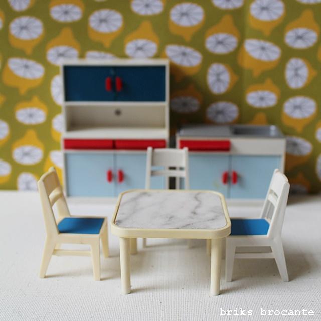 Modella poppenhuismeubels - keuken