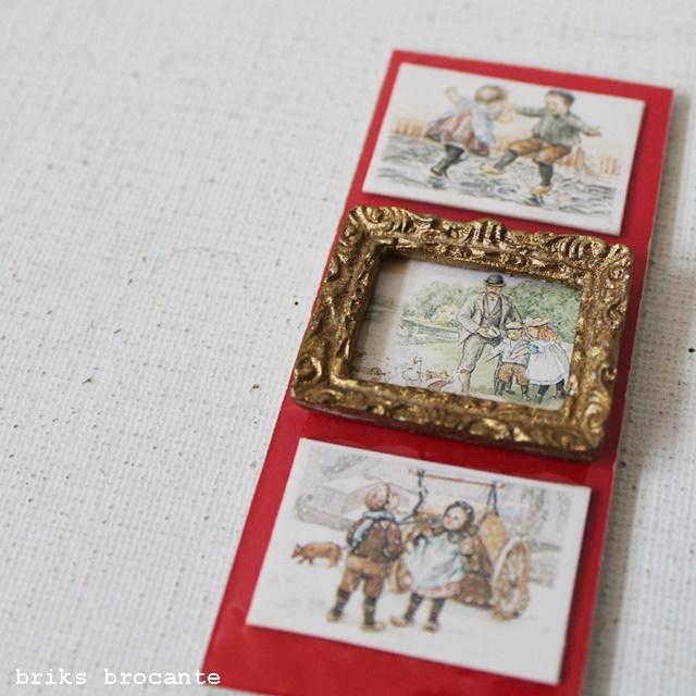 poppenhuis - lijst + 3 afbeeldingen
