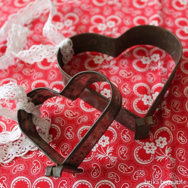 oude uitsteekvorm hart 10 cm