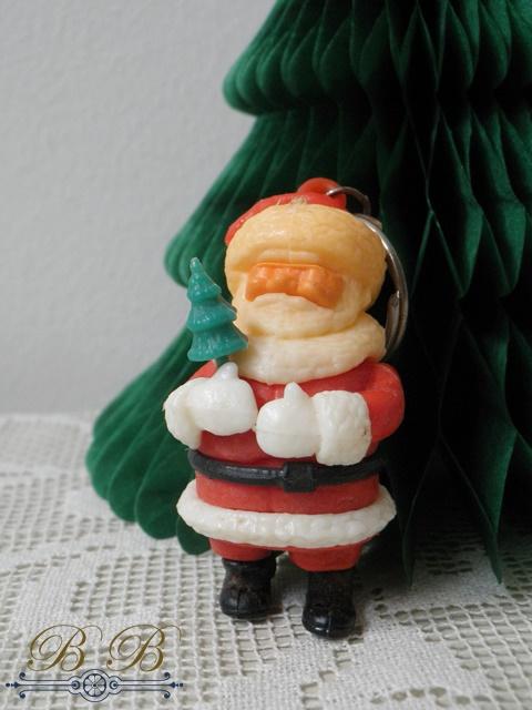 sleutelhanger kerstman