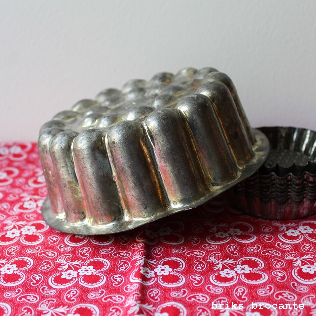 oude bakvorm / puddingvorm