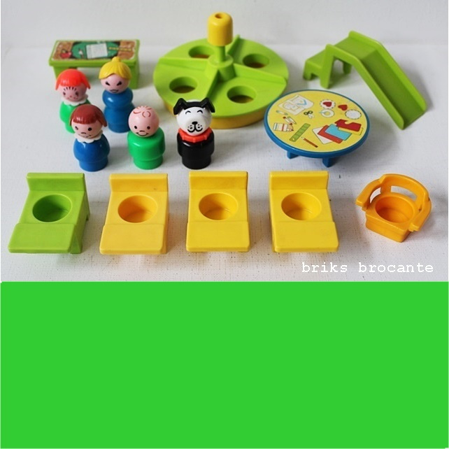 set Fisher Price accessoires Family School