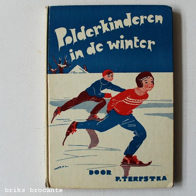 Polderkinderen in de winter
