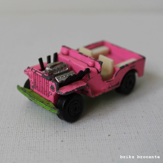Matchbox jeep