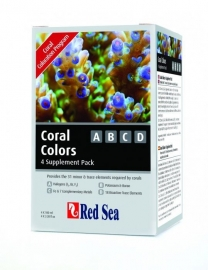 Red Sea Coral Colors A,B,C,D - 100ml (4-pack)