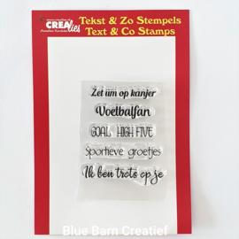 CreaLies clear stamp - Zet um op kanjer