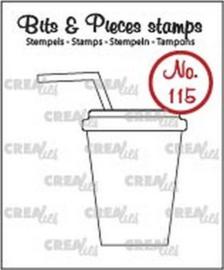 Clear Stamp CreaLies - Softdrink / Milkshake