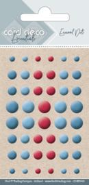 Card Deco Enamel Dots - Mix 3