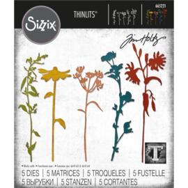 Snijmal Sizzix - Wildflowers #3