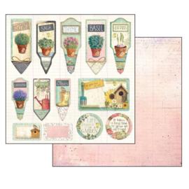 """12"""" PaperPad Stamperia - Garden"""