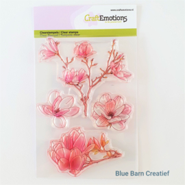 Clear Stamp CraftEmotions - Magnolia Spring Time