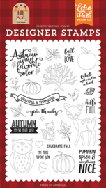 Clear Stamp Echo Park - My Favorite Fall