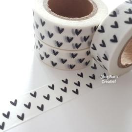 Masking Tape - Kleine Zwarte Hartjes