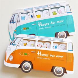 Sticky Notes - VW bus oranje