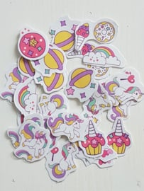 Planner Stickers - Eenhoorn (set 50 stuks)