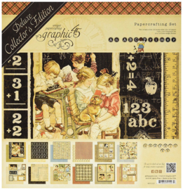 PaperPad Graphic45 - An ABC Primer Deluxe Collector's Edition