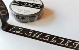 Masking Tape - Schoolbord Cijfers