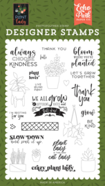 Clear Stamp Echo Park - Plant Lover