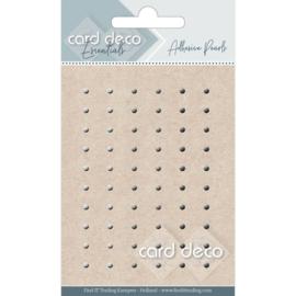 Card Deco Zelfklevende Parels - grijs