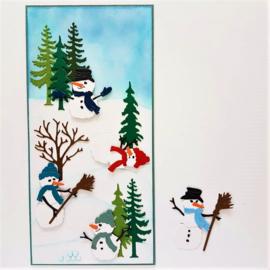 SlimLine kaart - Sneeuwpret