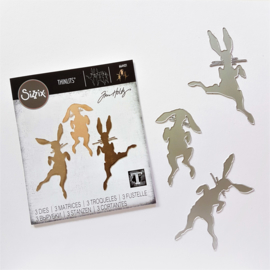 Snijmal Sizzix - Bunny Hop