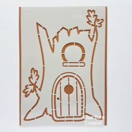 Marianne Design Stencil - Treehouse