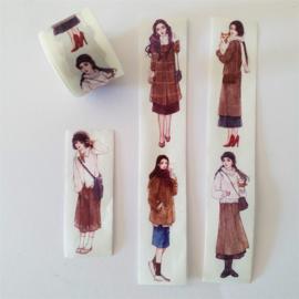 Washi Tape - Meisjes Naturel 1