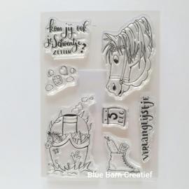 Clear Stamp CraftEmotions - Sinterklaas 2