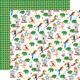 """PaperPad Carta Bella - Zoo Adventure (12"""" Collection Kit)"""