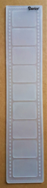 Embossing template - Film (6,5 x 30,5 cm)
