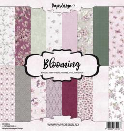 """PaperPad Papirdesign - Blooming 12"""""""