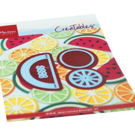 Snijmal Marianne Design - Fruit