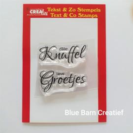 CreaLies clear stamp - dikke Knuffel