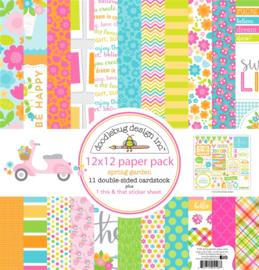 "12"" PaperPad Doodelbug - Spring Garden"