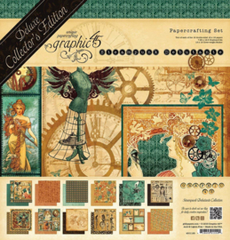 Paperpad Graphic45 - Steampunk Debutante Deluxe Collector's Edition