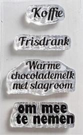 Clear Stamp - Koffie