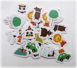 Planner Stickers - Zoolicious (set 40 stuks)