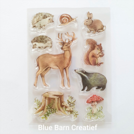 Clear Stamp Craft Consortium - Woodland Animal