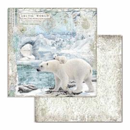 """12"""" PaperPad Stamperia - Arctic Antarctic"""