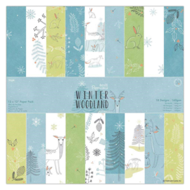 "12"" PaperPad Papermania - Winter Woodland"