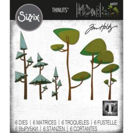 Snijmal Sizzix - Funky Trees