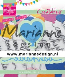 Snijmal Marianne Design - Van Harte & Ballonnen