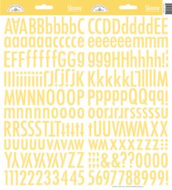 Doodlebug Skinny Stickers - Bumblebee geel