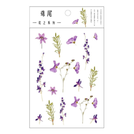 Transparant Stickervel - Iris